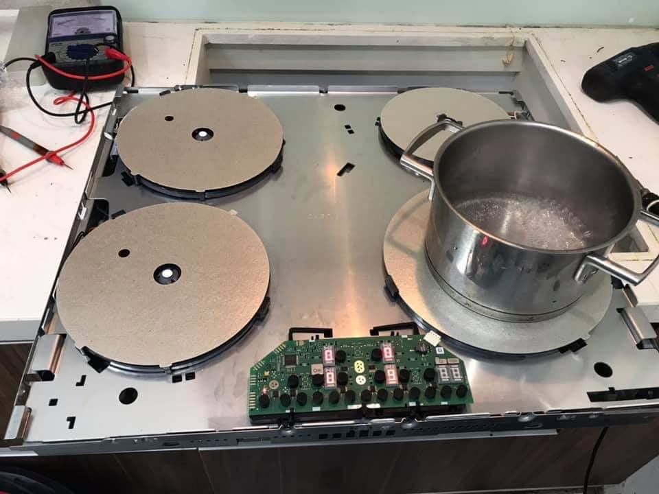 Sửa bếp từ Neff lỗi E1 thế nào?